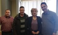 Πάτρα - Συνάντηση της Σίας Αναγνωστοπούλου με την Ένωση Αστυνομικών Υπαλλήλων Αχαΐας