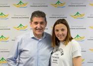 Η Χαρά Μάλλιου υποψήφια με τον Γρηγόρη Αλεξόπουλο