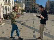 O YouTuber από τη Σλοβακία που ήρθε στην Πάτρα και... συγκρούστηκε με έναν skater (video)