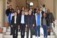 Στον Δήμαρχο Πατρέων αντιπροσωπεία της Παγκόσμιας Συνδικαλιστικής Ομοσπονδίας (φωτο)