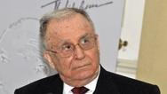 Για εγκλήματα κατά της ανθρωπότητας θα δικασθεί ο πρόεδρος Ίον Ιλιέσκου