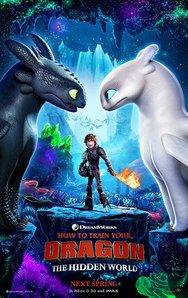 Προβολή Ταινίας 'How to Train Your Dragon 3' στην Odeon Entertainment