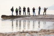 Αλυκή Αιγίου: Μοναδική εμπειρία το μάθημα φωτογραφίας άγριας φύσης με τον Χρήστο Βλάχο (φωτο)