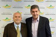 Ο Ανδρέας Ζέρβας υποψήφιος με τον Γρηγόρη Αλεξόπουλο