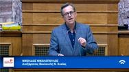 Νικολόπουλος: «Το ΚΚΕ έχει βάλει και… σεκιούριτι στις αυθαιρεσίες της βίλας Πελετίδη» (video)