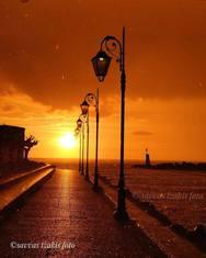 Ήλιος και βροχή δένουν μαζί στην Πάτρα