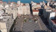 Πλατεία Γεωργίου - Πετώντας πάνω από την «καρδιά» της Πάτρας (video)