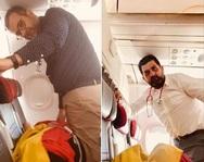 Aιγιώτες καρδιολόγοι έσωσαν εν πτήσει Ελβετίδα που υπέστη έμφραγμα!
