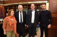 Ευρωπαίοι εκπρόσωποι της Κοινοβουλευτικής Συνέλευσης Γαλλοφωνίας στο Υπουργείο Ναυτιλίας