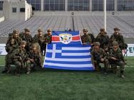 Συμμετοχή αντιπροσωπευτικής ομάδας της ΣΣΕ, στον 51ο Διαγωνισμό Στρατιωτικής Αριστείας (φωτο)