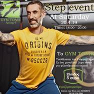 Step Event με τον Γιώργο Ξηρό at Gym Tonik