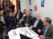 Πάτρα: Συνάντηση με τον Θάνο Βούρδα πραγματοποίησε ο Γιώργος Ρώρος