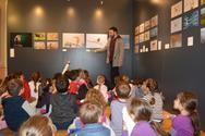 Πλήθος μαθητών επισκέφθηκε την εκπαιδευτική έκθεση φωτογραφίας για την Αλυκή Αιγίου (φωτο)