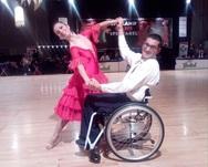 6η θέση για το Πατρινό ζευγάρι στο παγκόσμιο πρωτάθλημα χορού με καροτσάκι (pics)