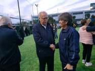 O Θανάσης Παπαδόπουλος στο '3ο Παγκαλαβρυτινό τουρνουά ποδοσφαίρου ευ αγωνίζεσθαι' (φωτο)
