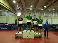 Πρωταθλητής Ελλάδος ο Γεράσιμος Χατζηλυγερούδης στους εφήβους στο πινγκ - πονγκ