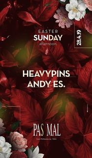 Heavy Pins & Αndy Es - Easter Sunday at Pas Mal