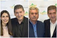 Πάτρα - Με τον Γρηγόρη Αλεξόπουλο, η Ιωάννα Γκόλφη & ο Αποστόλης Αθανασόπουλος