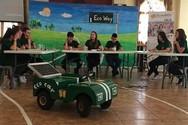 Πρωτιά του Γυμνασίου Φαρρών Δ. Ερυμάνθου στο Ecomobility 2019