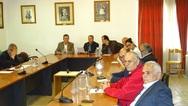 Συνεδρίασε το Δημοτικό Συμβούλιο Καλαβρύτων για την κατολίσθηση στο δρόμο της Ζαχλωρούς
