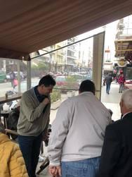Πάτρα - Στην αγορά της Ηρώων Πολυτεχνείου ο υποψήφιος Δήμαρχος, Πέτρος Ψωμάς!