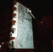 Το 4ο Διεθνές Street Art Festival της Πάτρας ξεκινά με εντυπωσιακό τρόπο!