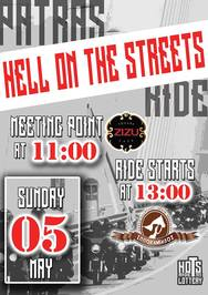 Hell on the Streets Ride vol.3 at Zizu le Patron