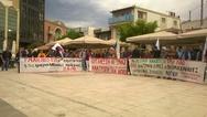Αίγιο - Πραγματοποιήθηκε απεργιακή συγκέντρωση στην πλατεία Λαύρας (φωτο)