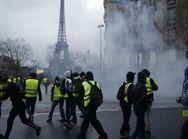 Συγκρούσεις στο Παρίσι ανήμερα της Πρωτομαγιάς