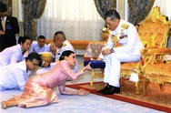 Οι πρώτες φωτογραφίες της νέας βασίλισσας της Ταϊλάνδης!