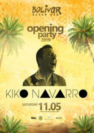 Kiko Navarro at Bolivar Beach Bar