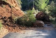 Καλάβρυτα: Ρίχνουν με χημικά τους επικίνδυνους βράχους στη Ζαχλωρού