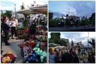 Χρώματα, αρώματα και δεκάδες χορευτές 'πλημμύρισαν' την πλατεία Υψηλών Αλωνίων (pics)