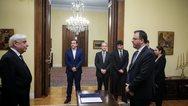 Ο Θανάσης Θεοχαρόπουλος ορκίσθηκε υπουργός Τουρισμού (φωτο)
