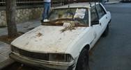 Πάνω από 300 εγκαταλειμμένα οχήματα στους δρόμους της Πάτρας