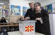 Βόρεια Μακεδονία: Το ποσοστό συμμετοχής στις προεδρικές εκλογές ξεπερνά το 40%