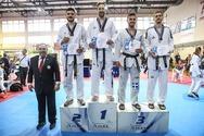 Σημαντικές επιτυχίες για τους αθλητές της Πάτρας στο πανελλήνιο πρωτάθλημα tae kwon do!