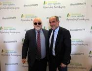Στο εκλογικό κέντρο του Απ. Κατσιφάρα ο υποψήφιος ευρωβουλευτής Γιάννης Βαρδακαστάνης