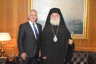 Συνάντηση του Ευάγγελου Αποστολάκη με τον Πάπα και Πατριάρχη Αλεξανδρείας και πάσης Αφρικής!