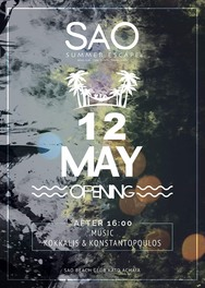 Opening Party at Sao Beach Bar