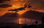 Ηλιοβασίλεμα στην Πάτρα, σημαίνει μαγεία! (φωτο)
