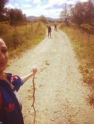 Στον δρόμο για τον Άγιο - Δεκάδες προσκυνητές ταξιδεύουν με τα πόδια στα Σπάτα (pics)
