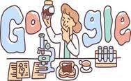 Την Lucy Wills τιμά το doodle της Google