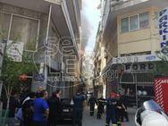 Μεγάλη φωτιά σε πολυκατοικία στο κέντρο της Θεσσαλονίκης (pics+video)