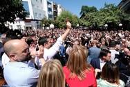 Τσίπρας από Άρτα: 'Αυτή είναι πραγματική δημοσκόπηση' (φωτο)