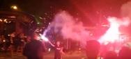 Το πανηγύρισαν και στην Πάτρα οι οπαδοί του ΠΑΟΚ