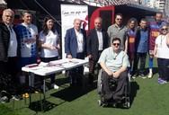 Πάτρα: O Αντώνης Χαροκόπος έδωσε το παρών σε φιλικό ποδοσφαιρικό αγώνα (φωτο)