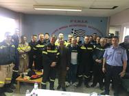Ν. Νικολόπουλος: 'Η μόνιμη στέγη πρώτος στόχος για την Πυροσβεστική Υπηρεσία της Πάτρας'
