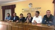 Πέντε υποψήφιοι ευρωβουλευτές του ΣΥΡΙΖΑ μίλησαν από την Πάτρα για 'καθαρή νίκη'