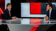 Υψηλά νούμερα τηλεθέασης για την συνέντευξη του Αλέξη Τσίπρα στον Alpha